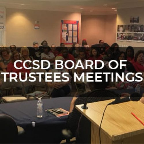 CCSD Board Of Trustees Meetings