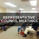 CANCELLED – Representative Council Meeting