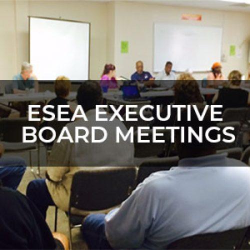 ESEA Board Meetings