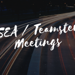 ESEA/Teamsters Meetings