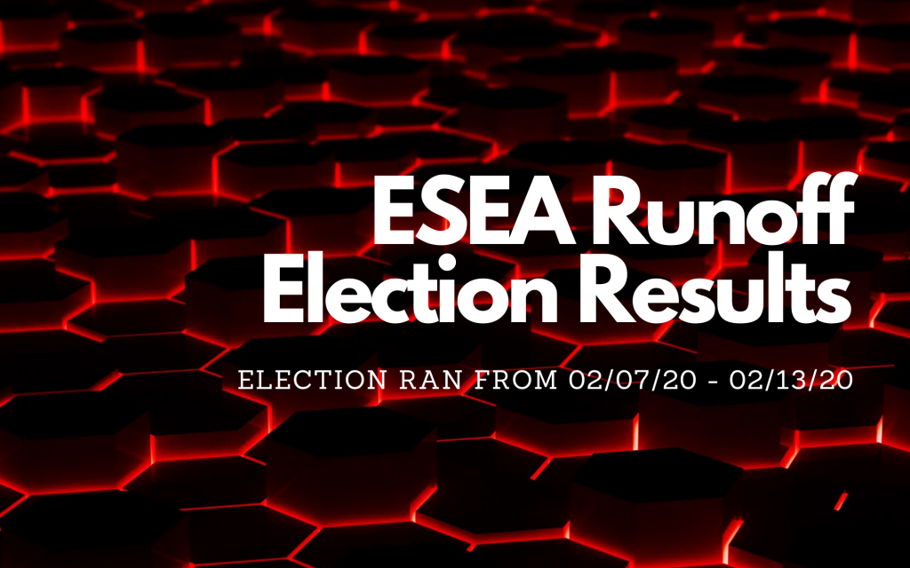 ESEA Runoff Elections Results