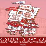 RedForEd President's Day Legislative Rally 2/15