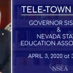 Gov. Sisolak & NSEA Tele-Town Hall