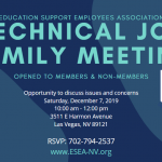 Technical Job Family Meeting